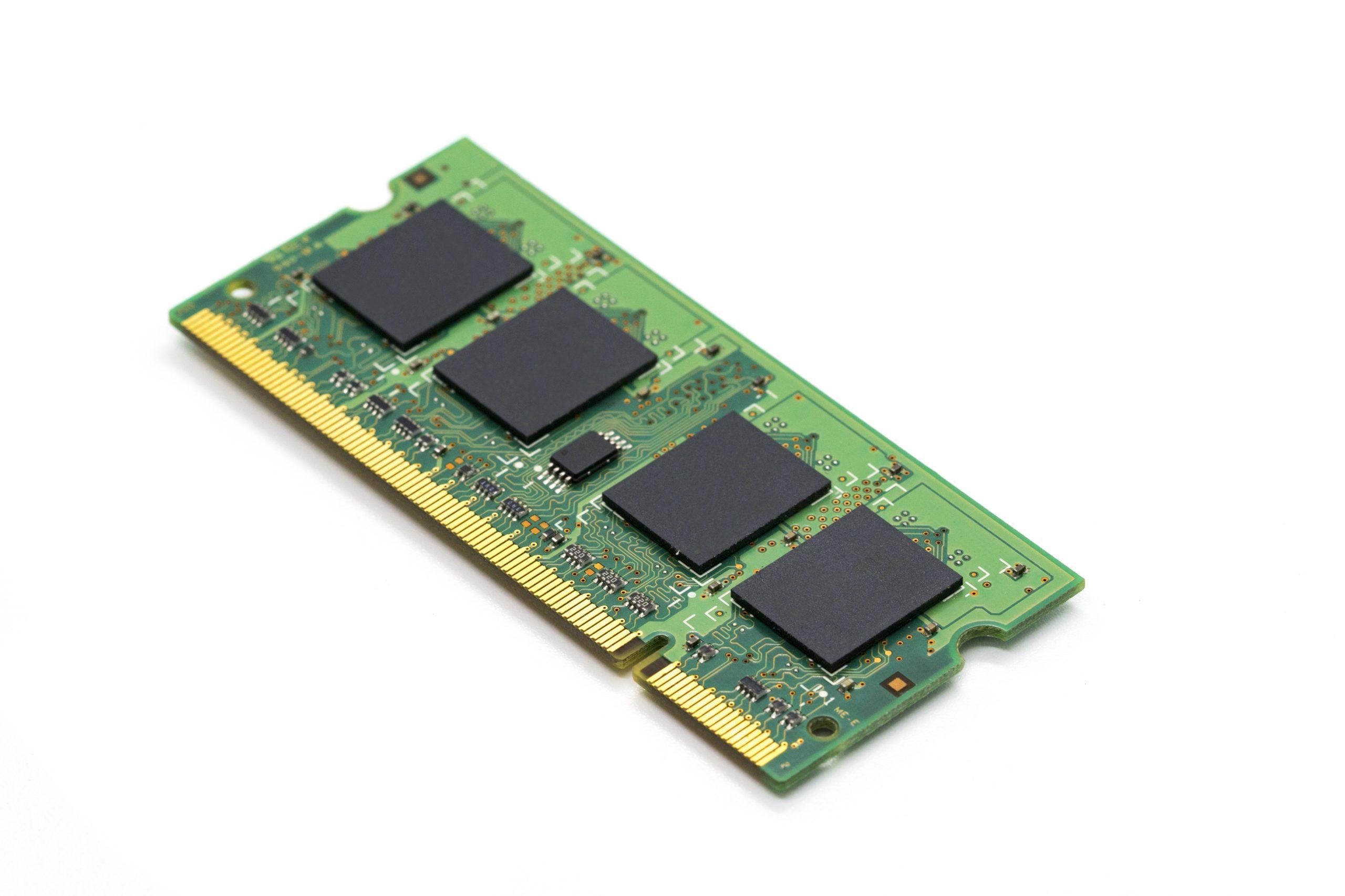 Image of RAM memory.