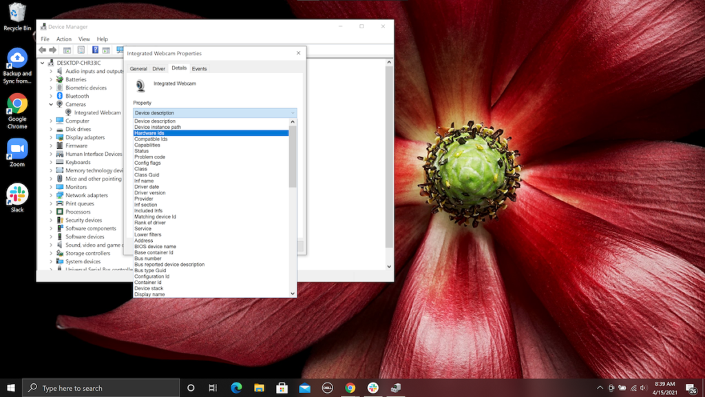 How to locate a hardware ID (HWID) on Windows.