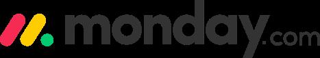 Monday project management software logo.