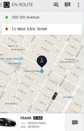 Android Uber App