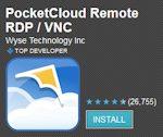 PocketCloud Remote RDP / VNC