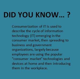 Consumerization of IT Definition