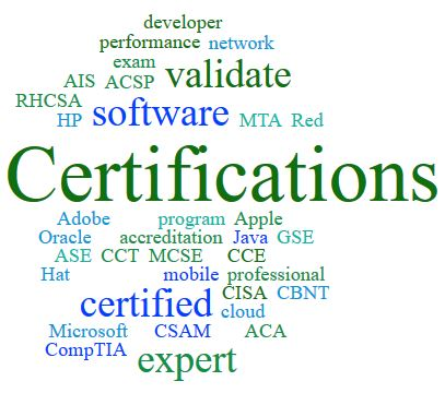 Computer and IT Certifications