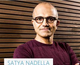 Microsoft CEO Sayta Nadella