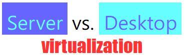 Server Vs Desktop Virtualization