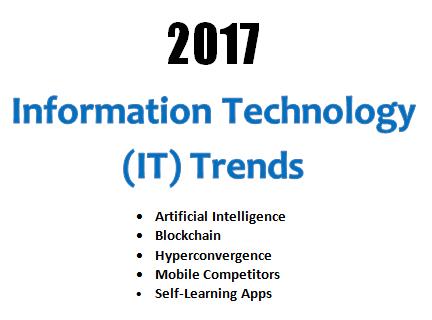 IT Trends - 2017