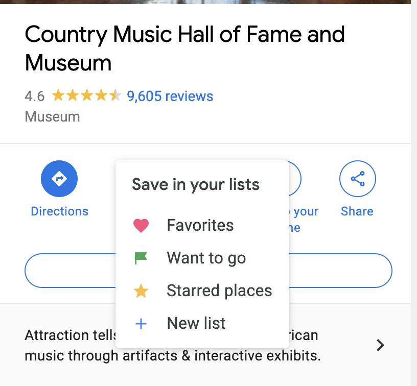 Screenshot of Google Maps in web browser.