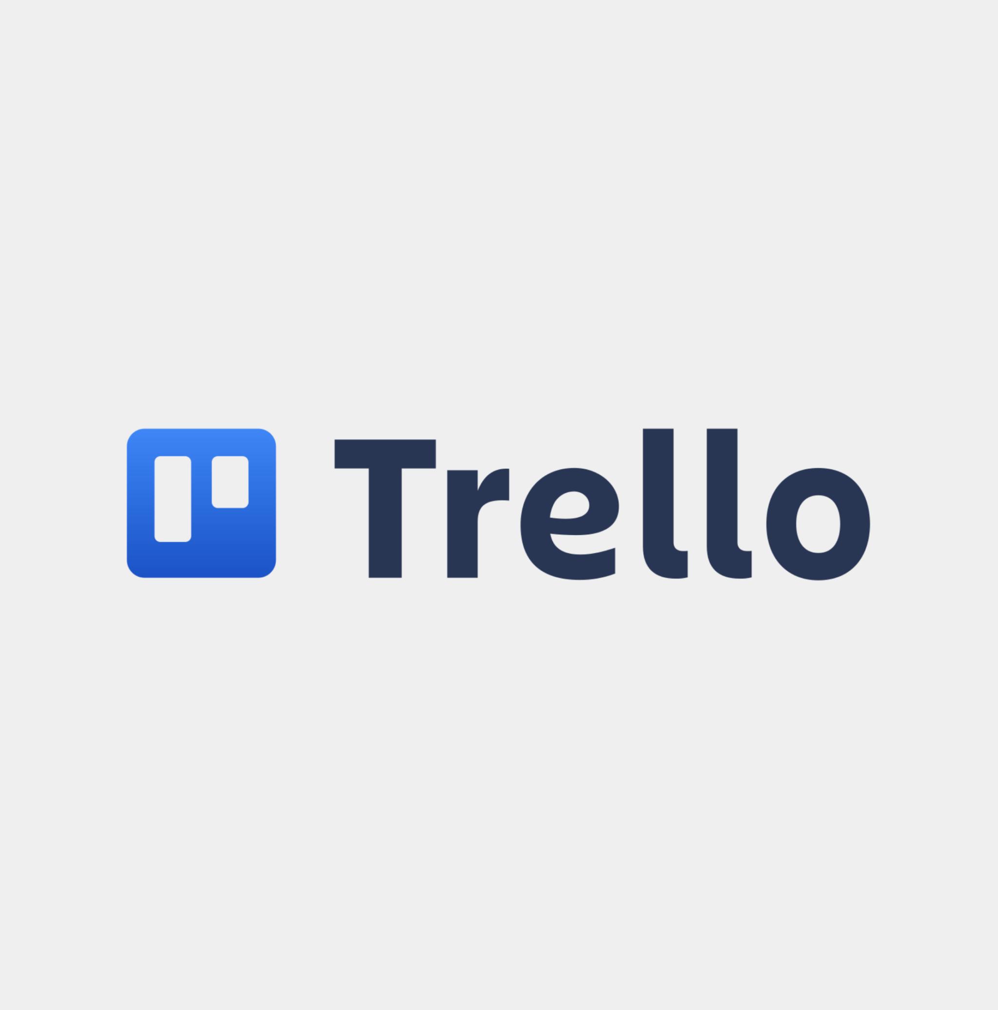 The logo for Trello.